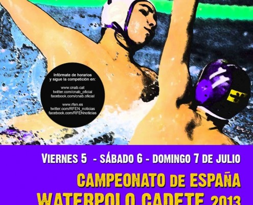 cartel_Camp_Esp_Waterpolo_Cadete