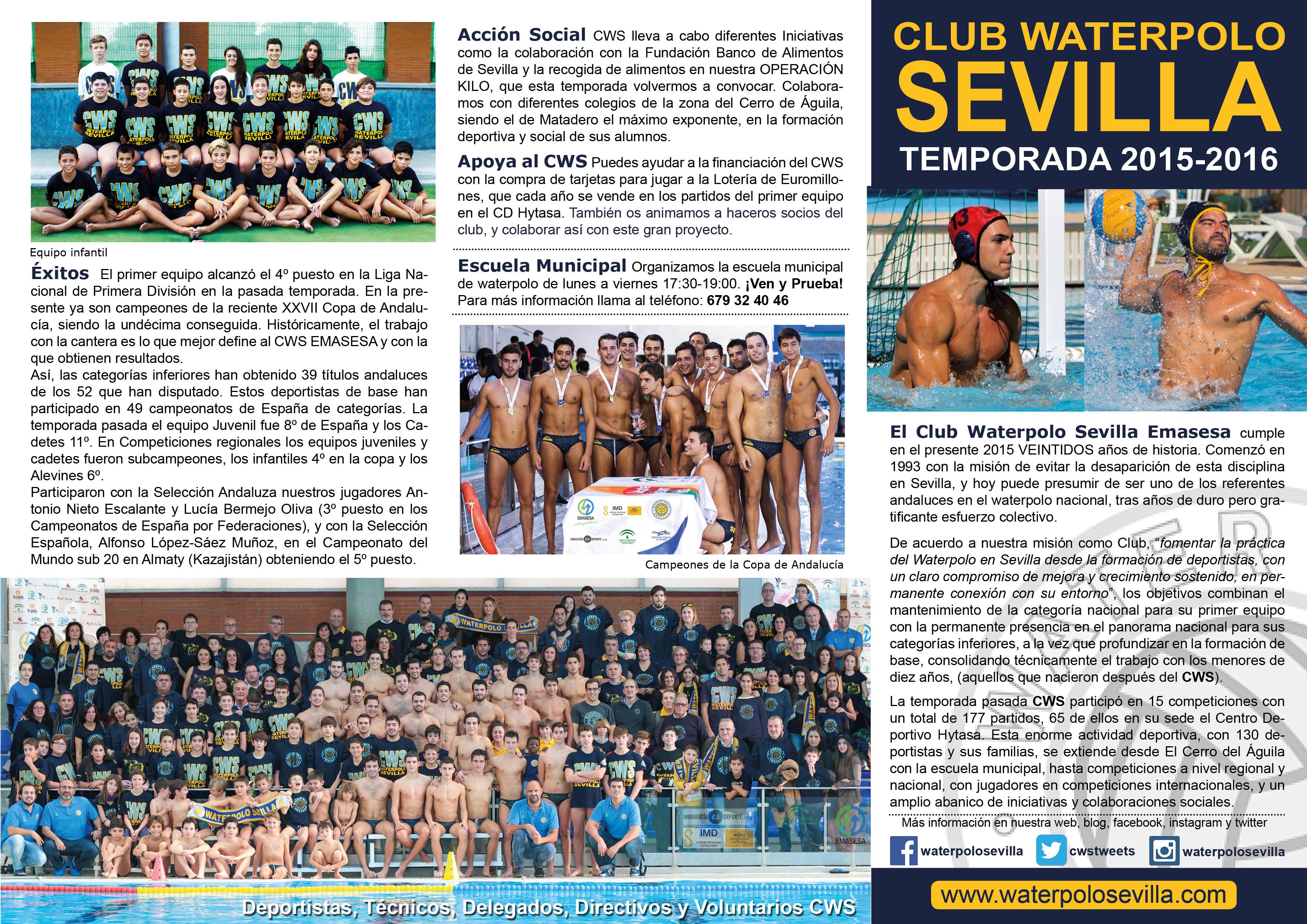CWS Folleto Temporada 2015-2016 Delante - (1)
