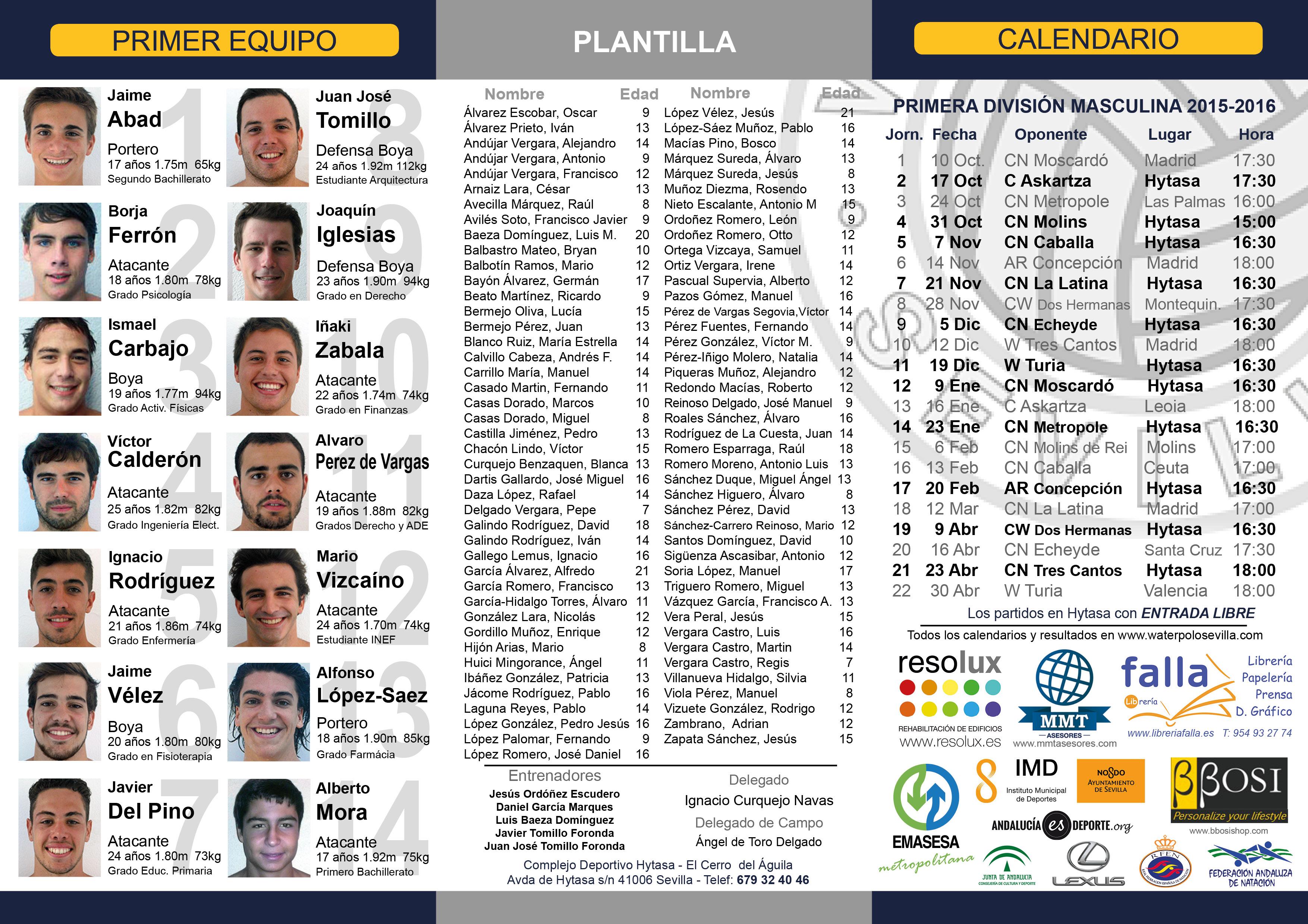 CWS Folleto Temporada 2015-2016 Delante - (2)