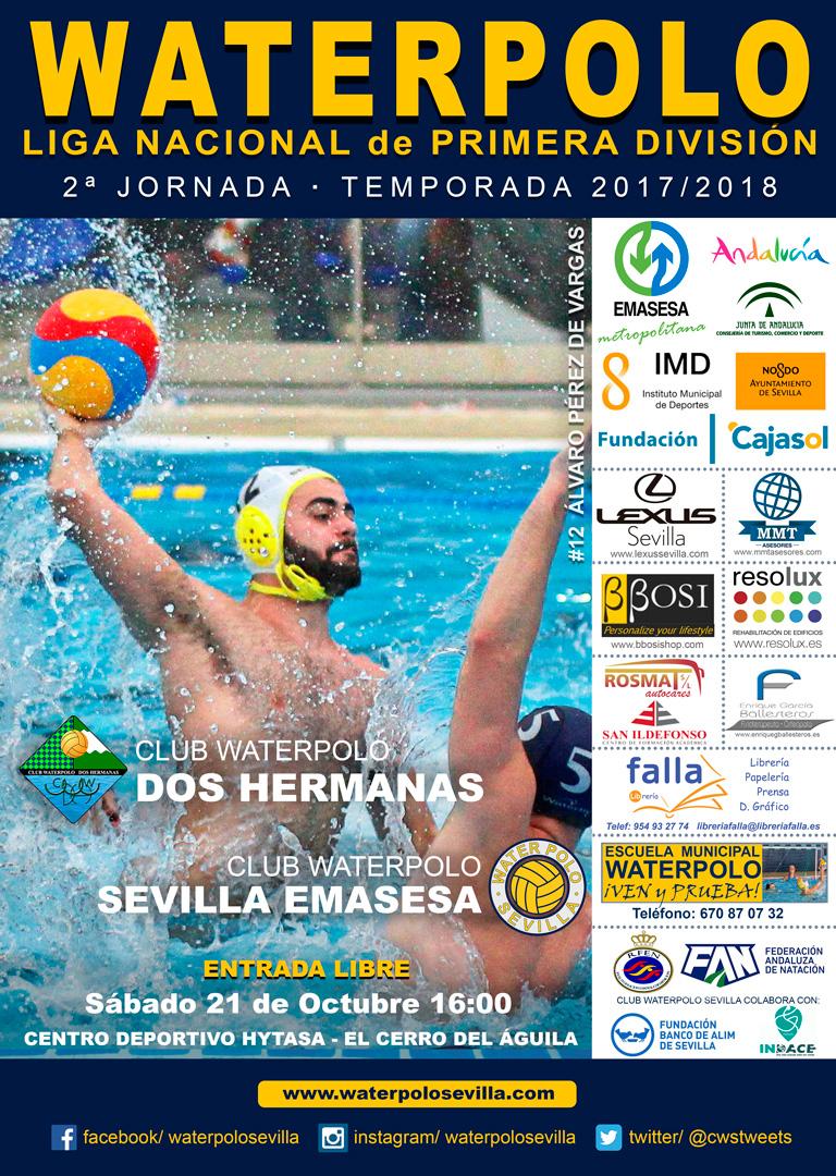 Cartel CWS-2017-18-Jornada-2