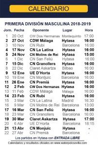 Temporada-2018-2019-calendario 1DM REV1