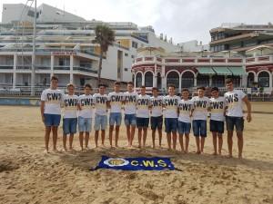 Equipo Cadete participante Cto. España Cadete.
