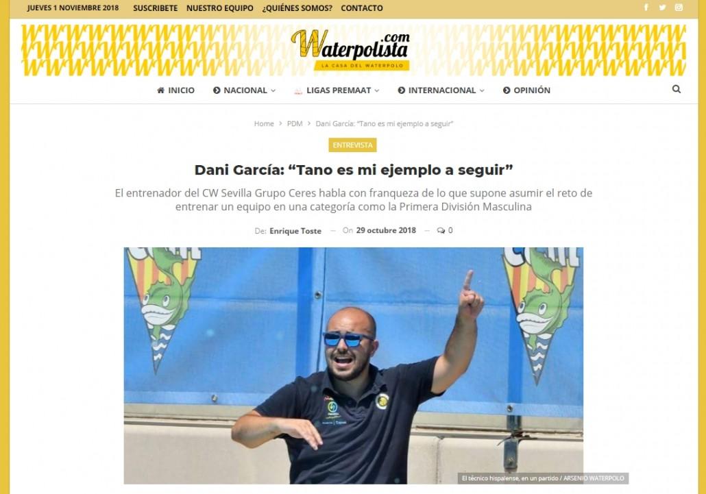 Waterpolista.com 2018-10-31 Dani García