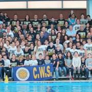 Foto de familia del Waterpolo Sevilla-Grupo Ceres