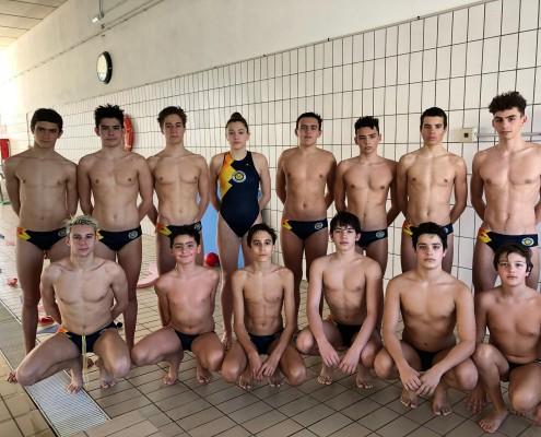 Equipo cadete Waterpolo Sevilla-Grupo Ceres
