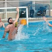 El Waterpolo Sevilla Grupo Ceres, atacando
