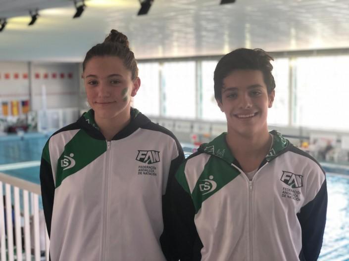Los representantes del Waterpolo Sevilla-Grupo Ceres