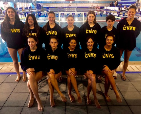 Waterpolo Sevilla-Grupo Ceres femenino en la fase final