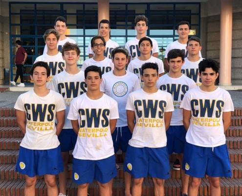 Waterpolo Sevilla Grupo Ceres cadete masculino