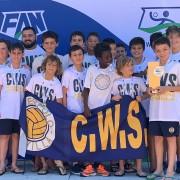 El Waterpolo Sevilla Grupo Ceres alevín, campeón andaluz