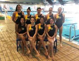 Las juveniles del Waterpolo Sevilla Grupo Ceres