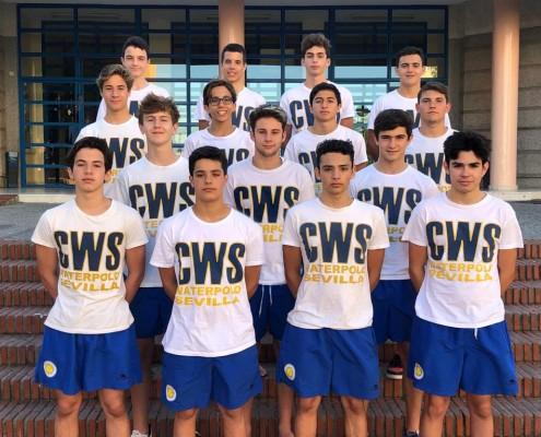 Waterpolo Sevilla-Grupo Ceres cadete para el Cto. de España